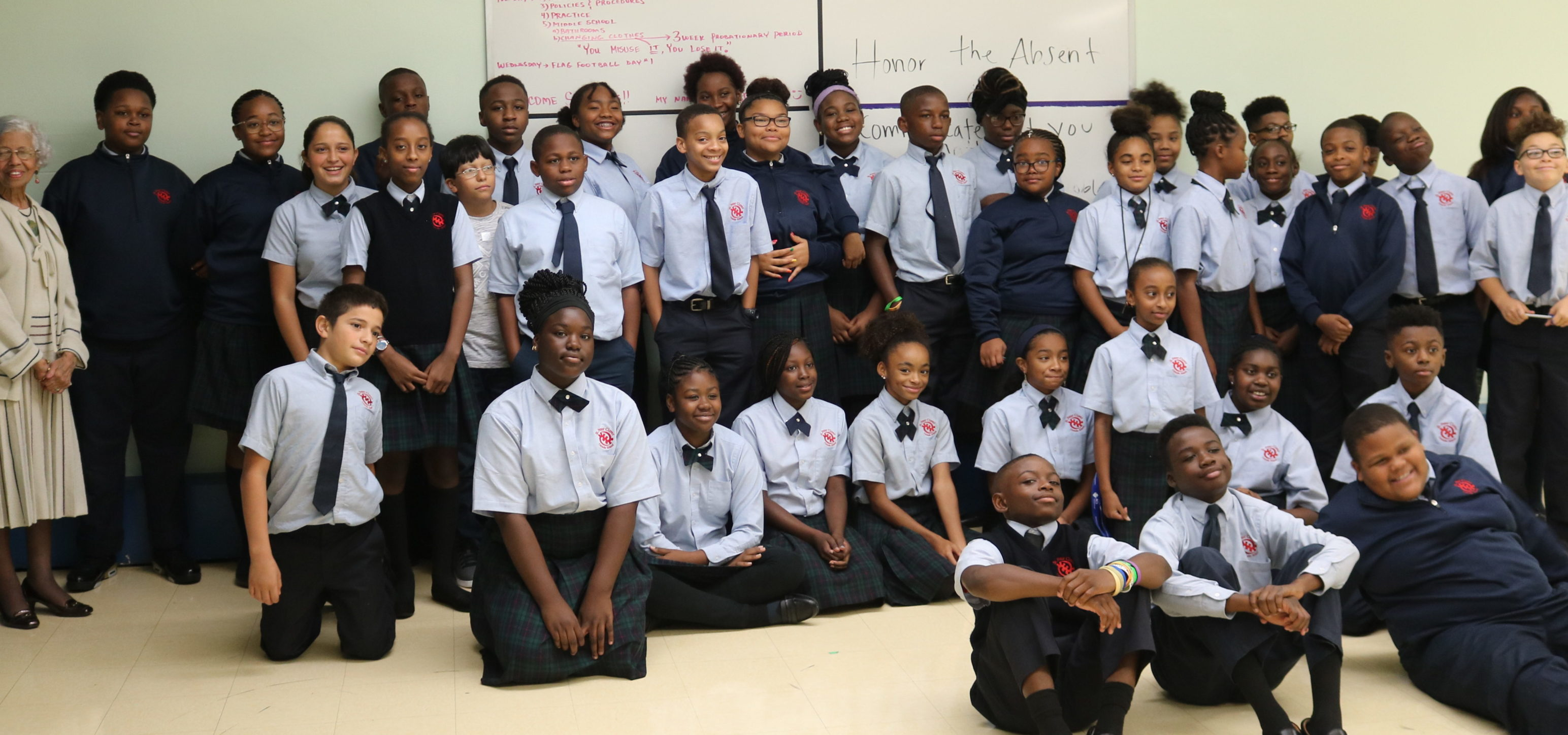 Civil rights pioneer Dr. Josie Johnson visits
